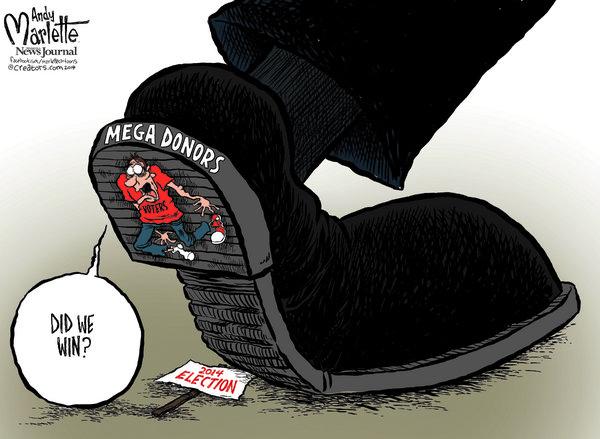 RealClearPolitics | John Deering for 11/16/2014 | Political Cartoons