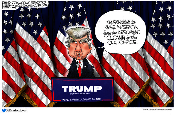 RealClearPolitics | Michael Ramirez for 06/22/2015 | Political ...