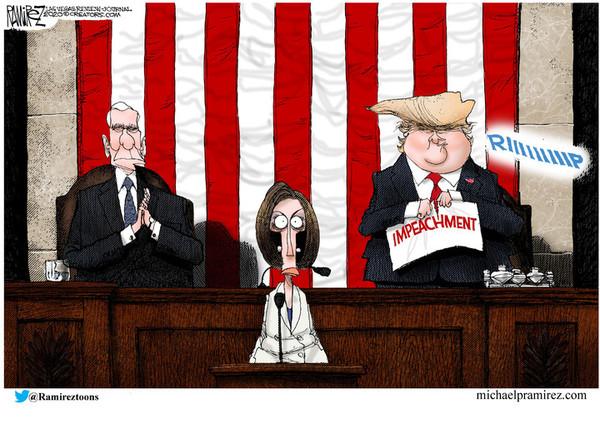 Image result for Pelosi cartoons week2/3/2020
