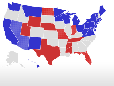 RealClearPolitics - Election 2018 - Arizona Senate - Ward vs. Sinema