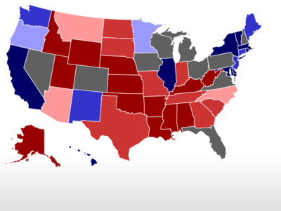 RCP Map on 10/21/2012