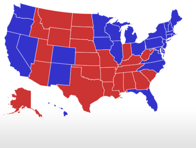 RCP Map on 9/30/2012