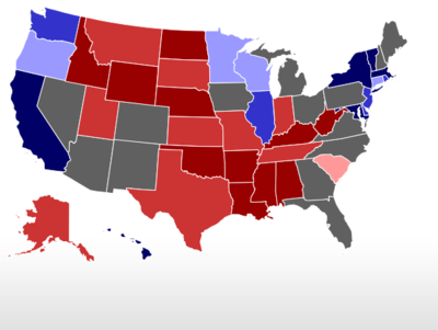 RealClearPolitics - 2016 Election Maps - Battle for White House