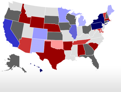 2018 rcp electoral no toss up map