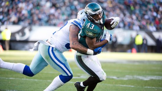 Eagles Darren Sproles Breaks Arm Tears Acl On Same Play