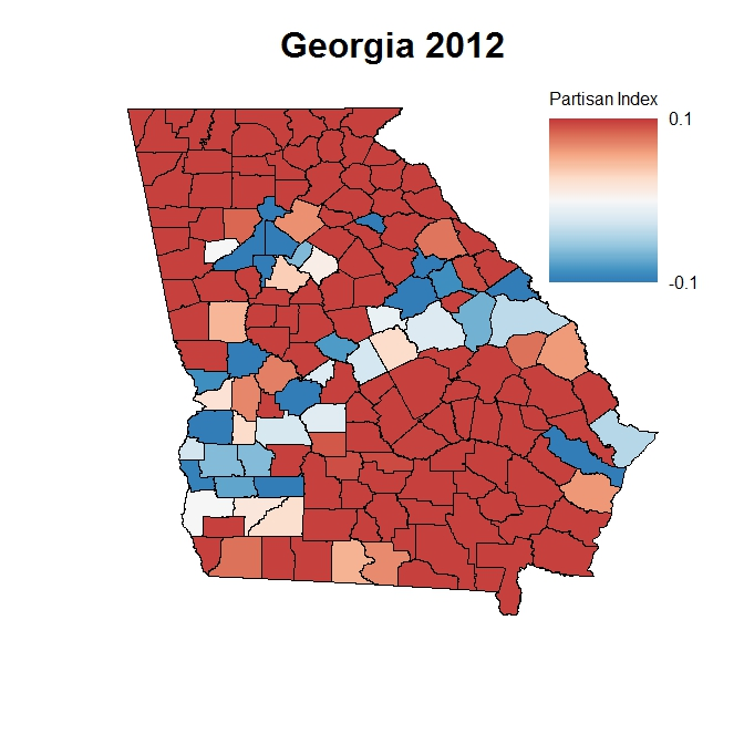Can Nunn Recreate Georgias S Democratic Coalition - Georgia map fall line