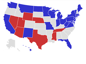 RealClearPolitics Election Ohio Romney Vs Obama - Map of us trump v hil